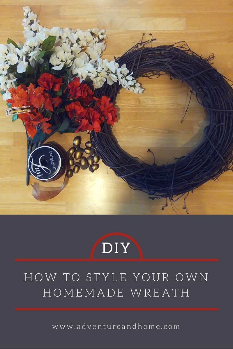 DIY Fall Wreath: How To Style a Homemade Wreath