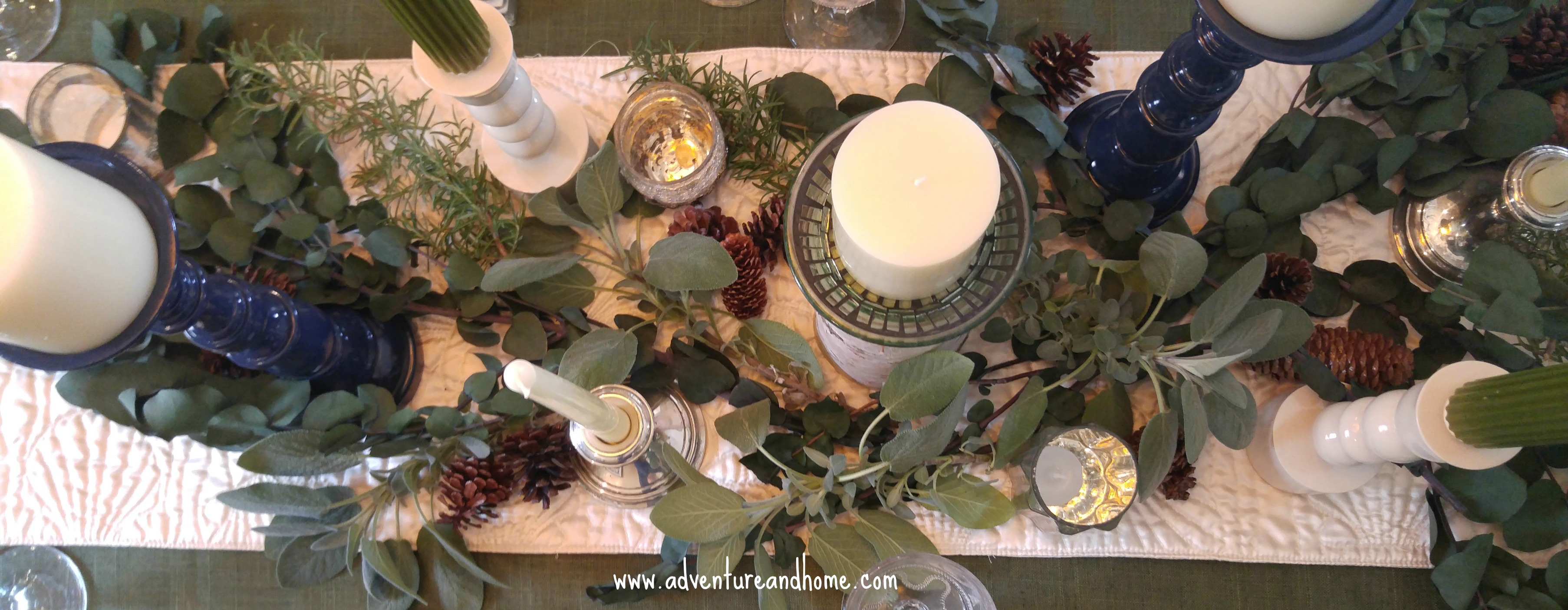Thanksgiving Tablescape For Family Style Dining