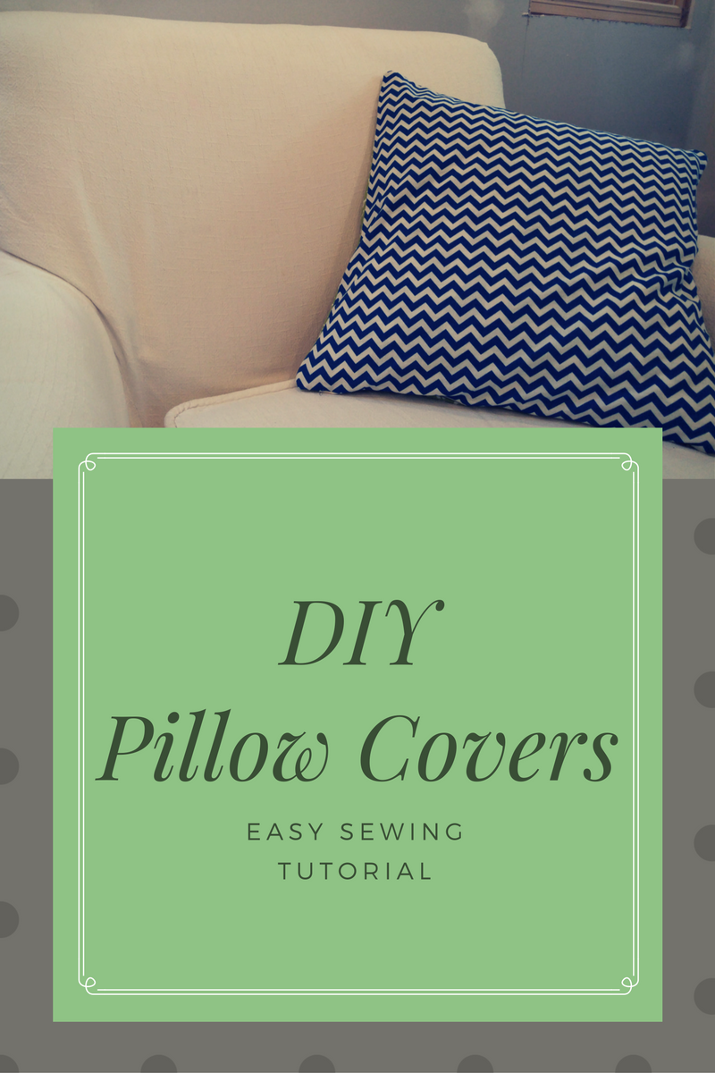 Easy DIY Pillow Covers That Pop!