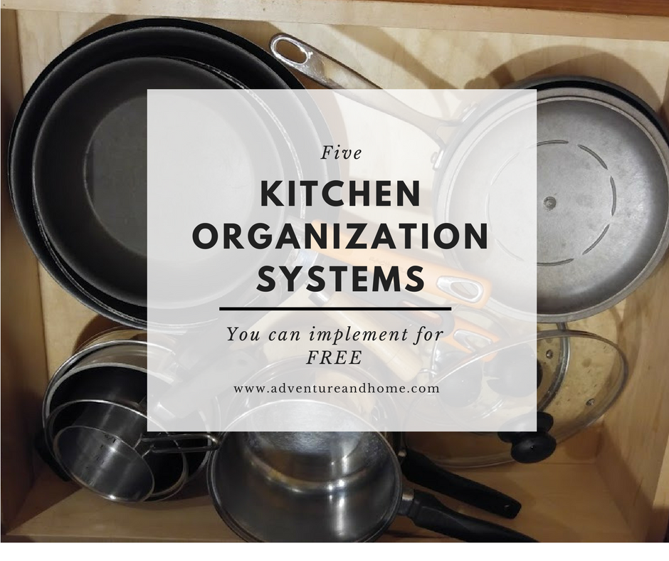 6 Easy Kitchen Organization Tricks You Can Do for Free